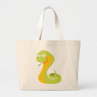ヘビ ラージトートバッグ
