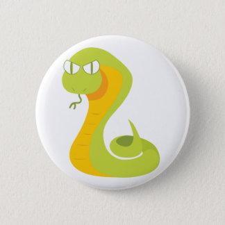 ヘビ 缶バッジ
