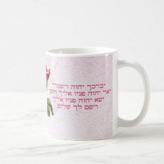 ヘブライを賛美するAaronicは上がりました コーヒーマグカップ