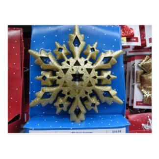 ヘブライクリスマスの星 ポストカード