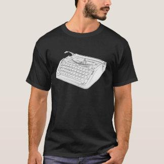 ヘブライタイプライター Tシャツ