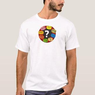 ヘブライ質問 Tシャツ