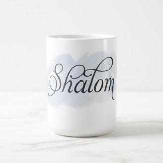 ヘブライ- Shalom コーヒーマグカップ