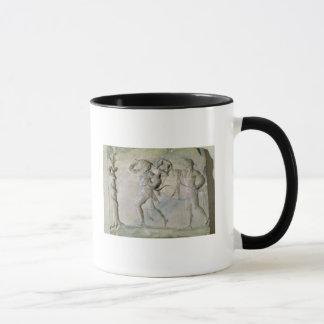 ヘラクレスを描写するタブレット マグカップ