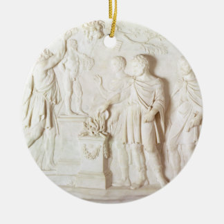 ヘラクレス、c.1766 (大理石)への犠牲 セラミックオーナメント