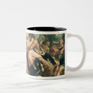 ヘラクレス、DeianeiraおよびケンタウルスEurytion ツートーンマグカップ