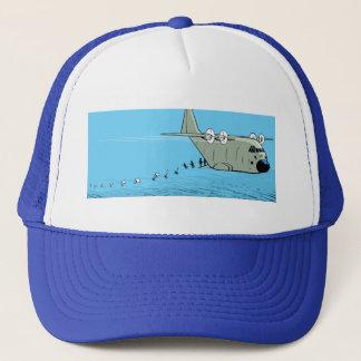 ヘラクレスC-130の落下傘兵の漫画の帽子 キャップ