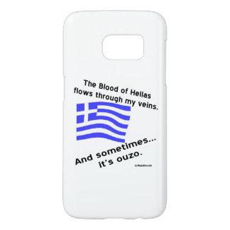 ヘラスおよびOuzoの血 Samsung Galaxy S7 ケース