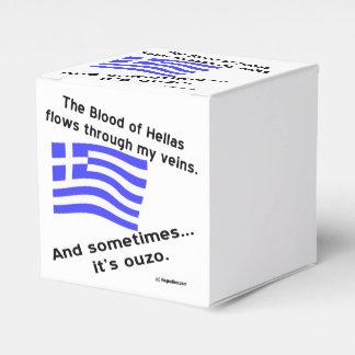 ヘラス及びOuzoの血 フェイバーボックス