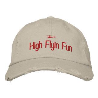 ヘリコプターによって刺繍される帽子 刺繍入りキャップ