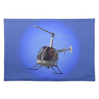 ヘリコプターの場所マットのヘリコプターのパーティーの装飾のギフト ランチョンマット