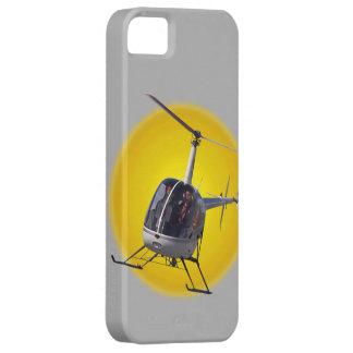 ヘリコプターのiPhone 5つの場合の涼しいチョッパーのパイロットの例 iPhone SE/5/5s ケース
