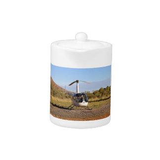 ヘリコプター(白い)、奥地にオーストラリア2
