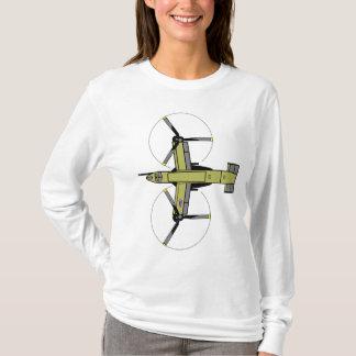 ヘリコプター- MV-22ミサゴ Tシャツ