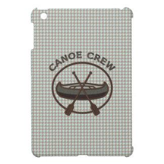 ヘリンボンのカヌーのスポーツロゴ iPad MINI CASE
