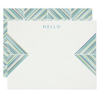ヘリンボン矢の文房具-空 カード