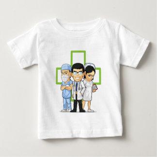 ヘルスケアか医学のスタッフ-医者及びナース ベビーTシャツ