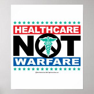 ヘルスケアない戦い ポスター