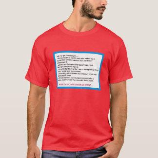 ヘルスケアの計画か。か。 Tシャツ