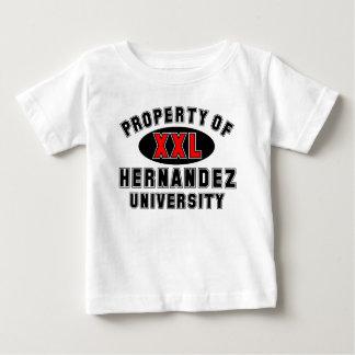 ヘルナンデス大学の特性 ベビーTシャツ