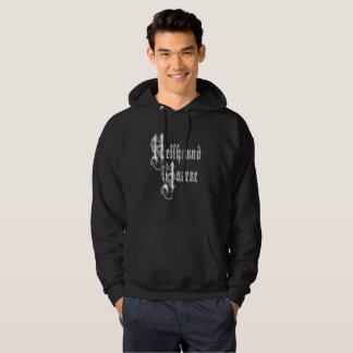 ヘルハウンドの恐怖ロゴのフード付きスウェットシャツ パーカ