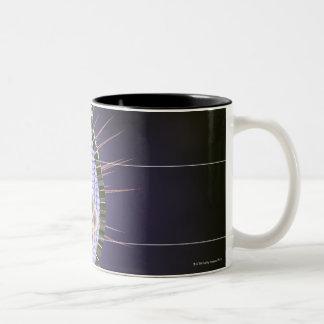 ヘルペス・ウイルスの構造 ツートーンマグカップ