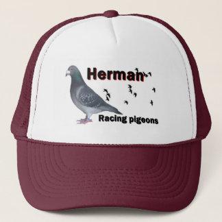 ヘルマンの競争ハト キャップ