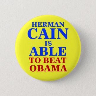 ヘルマンカインは有能な2012年です 5.7CM 丸型バッジ