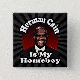 ヘルマンカインは私の同郷人、レトロのスタイルです 5.1CM 正方形バッジ