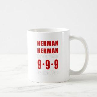 ヘルマンカイン999の計画 コーヒーマグカップ