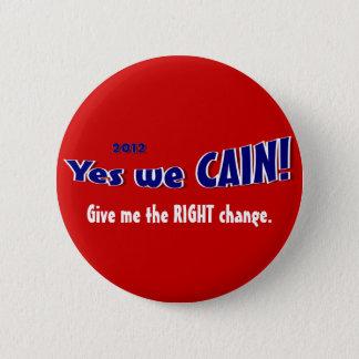 ヘルマンカインPinのための投票 5.7cm 丸型バッジ