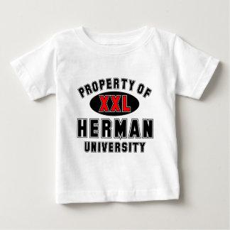 ヘルマン大学の特性 ベビーTシャツ