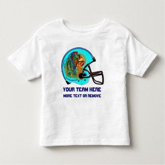 ヘルメットのフェニックスの鳥のフットボールの子供すべてのスタイル トドラーTシャツ