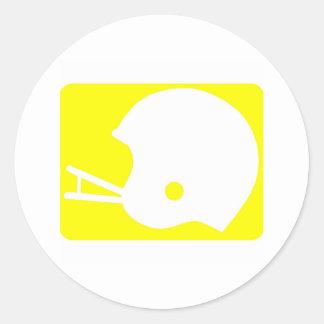 ヘルメット|ロゴ 丸形シール・ステッカー