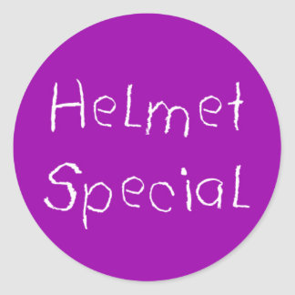 ヘルメット 特別 シール