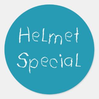 ヘルメット|特別 丸形シール・ステッカー