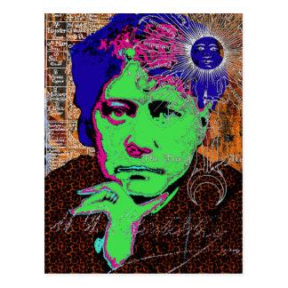 ヘレナBlavatskyの神智学の神秘的な秘密のニューエイジ ポストカード