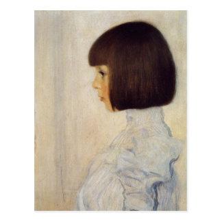 ヘレネ・クリムトの肖像 ポストカード