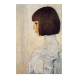 ヘレネ・クリムトの肖像 便箋