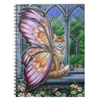 ヘレボルスのOrangeTabby妖精猫のノート ノートブック