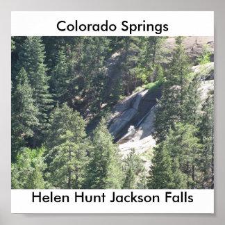 ヘレン・ハントジャクソンの滝ポスター プリント