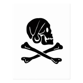 ヘンリーあらゆる海賊旗 ポストカード
