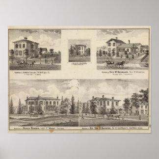 ヘンリーのパン屋および他の住宅 ポスター