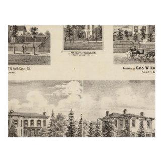 ヘンリーのパン屋および他の住宅 ポストカード