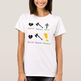 ヘンリーの妻 Tシャツ