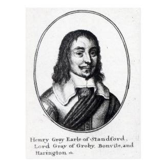 ヘンリーの灰色、第1伯爵Stamford ポストカード