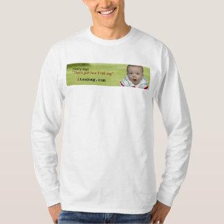 ヘンリーの長い袖T Tシャツ