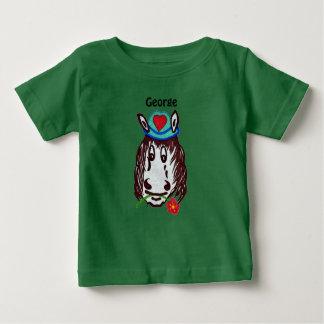 ヘンリーの馬の子供へのTシャツ ベビーTシャツ
