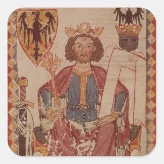ヘンリーのManasseからのイラストレーション王 スクエアシール