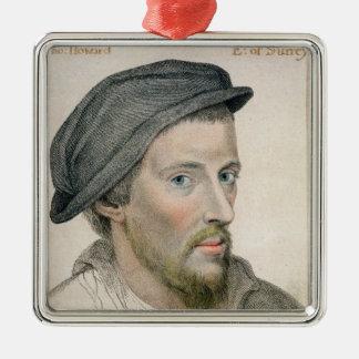 ヘンリーハワードの刻まれるサリー州(c.1517-47)の伯爵 メタルオーナメント